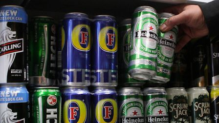 The pair were fined for selling alcohol to underage drinkers. Picture: PA