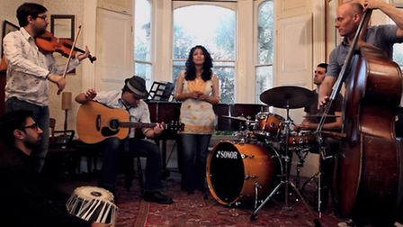 British-Bengali band Khiyo will bring their sound to the East End ahead of their album launch