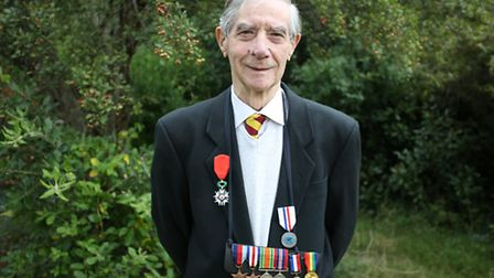 Ron Arnold has been awarded a French honour called the Legion D'Honneur which is rarely bestowed upo
