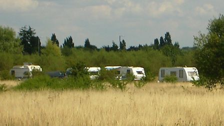 This isn't this first time that travellers have unlawfully settled in the area