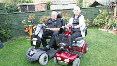 Rod Driscoll and his wife Pauline are both disabled and are currently struggline to gain access to t