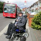 Tony Parker, is disabled and is in a wheelchair but when he went to get on a bus, the bus driver t
