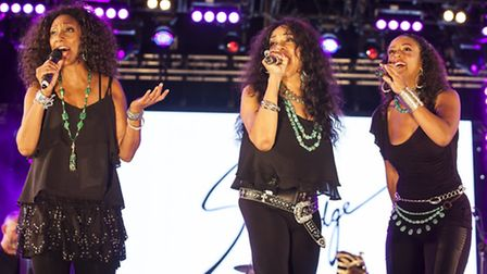 Sister Sledge wow the crowd