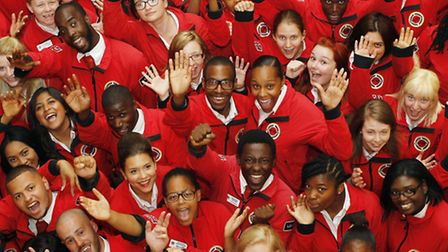 City Year UK volunteers have graduated after spending a year as full-time tutors, mentors and role m