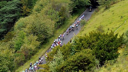 Box Hill attracts international cyclists competing in events such as this Surrey Cycle Classic in 20