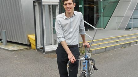 News editor Ramzy Alwakeel will be tackling Prudential RideLondon, which kicks off in the Queen Eliz