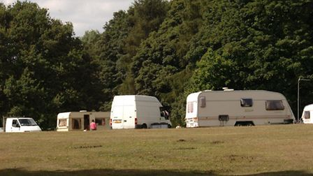 Travellers also often park their caravans in Bedford's Park in Havering-Atte-Bower