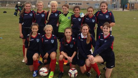 Redden Court's under-14 girls beat All Saints in the Essex Cup after a penalty shoot-out