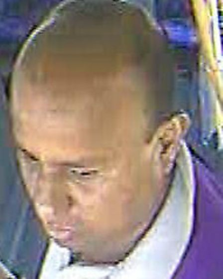 British Transport Poilice would like to speak to this man in relation to a sexual assault on May 19