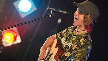 Josh, aged 13, of Collier Row, has once again made it through to the regional final of Open Mic UK a