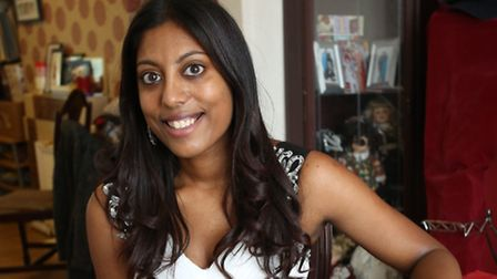 Meena Rajakumar is studying for her teaching degree but is also entering Miss Asia 2014.