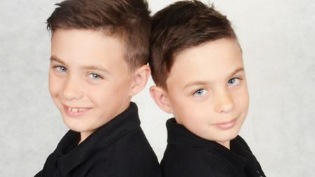 Twins Bobby and Teddy, eight, have been nominated for star of the week, for improving their performa