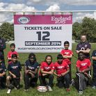 Youngsters from Plaistow's Curwen School and members of East London Rugby Club in West Ham helped pr
