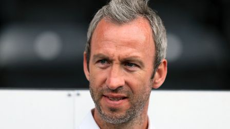Notts County manager Shaun Derry. Pic: Mike Egerton/EMPICS Sport