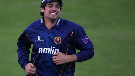 Essex and England's Alastair Cook plays a benefit match against Upminster this weekend (pic: Gavin E