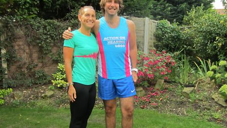 Marc Nicholson and his sister Pippa Kelman will be taking part in Run to the Beat on September 14
