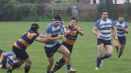 Wanstead 1st XV won against Upminister on Sunday despite the off field distraction of the travellers