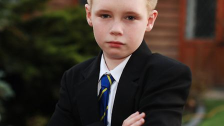 ADHD student Reno White is upset at Royal Liberty School for rejecting his registration after being
