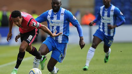 Colchester United's Jabo Ibehre is set to make another return to where it all started on Saturday. P