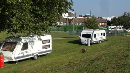 Travellers at Queen's Hospital