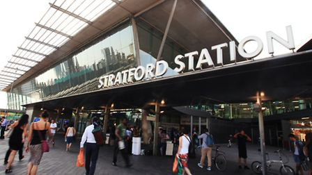 The teenager was arrested over an assault at Stratford station