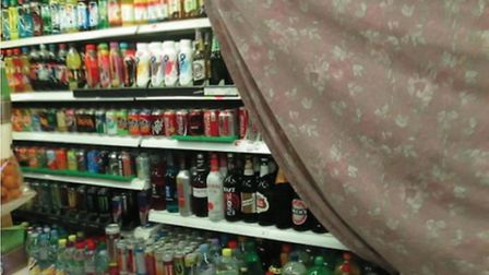 Sheets over booze. Picture: Havering Council