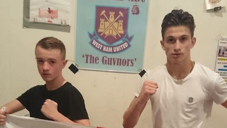 Romford's Paul Claydon and Lewis Hughes are heading off to Denmark