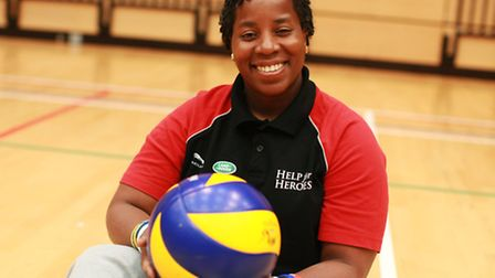 Maurillia, 39, is setting her sights on competing in sitting volleyball and athletics at Rio 2016 fo