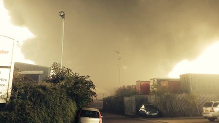 A fire at the Shanks waste recycling plant in Rainham released 'rancid' smells in a seperate inciden