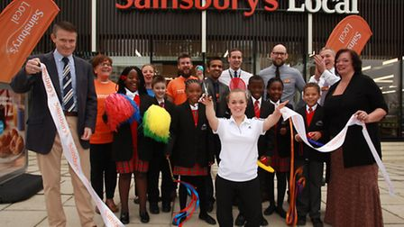 Paralympic champion and Active Kids ambassador, Ellie Simmonds OBE, opens the new Sainsbury's Local