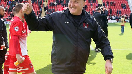 O's manager Russell Slade. Pic:Simon O'Connor