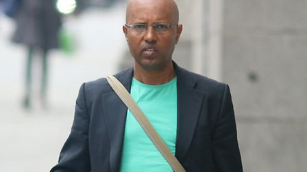 Aids charity founder Eyob Sellassie, 45, from Rainham, who is accused of inventing more than £415,00