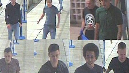 Police wish to identify these men