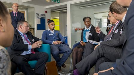 Students in talks with top UK businesses.