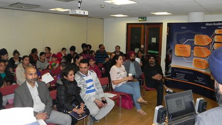 Atam Academy held an open day on Monday evening at Redbridge Central Library, in Clements Road, Ilfo