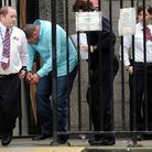 Billy Green being lead away from court. Picture: The Press and Journal.