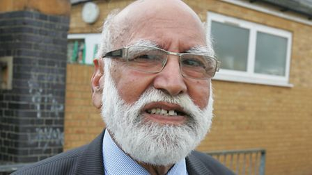 Muslim leader Bashir Chaudhry, the man behind the project