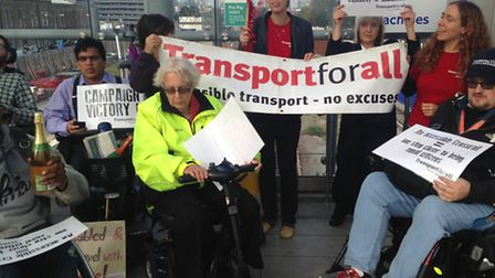 Redbridge Transport Action Group campaigning for step-free access at Seven Kings Crossrail station