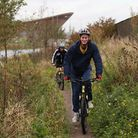 Reporter Freddy Mayhew takes to the trails at around the Lee Valley VeloPark in Queen Elizabeth Olym