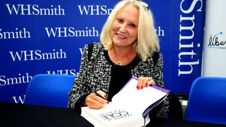 Crime author Martina Cole visited the Liberty shopping centre in Romford to promote her new book The