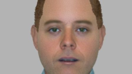 Efit of the man posing as a water board official. Picture: Essex Police.