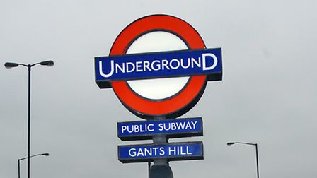 Tubes through Gants Hill are affected