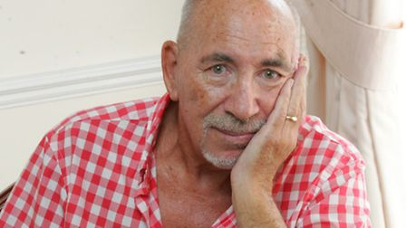Trigeminal neuralgia sufferer Peter Hogg with his cocktail of drugs
