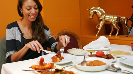 Reporter Anna Silverman digs into some dishes