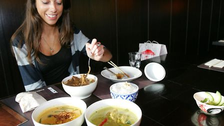 Reporter Anna Silverman tries out some dishes
