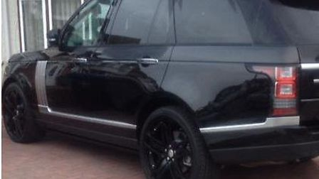 Range Rover thought to be in Ilford.