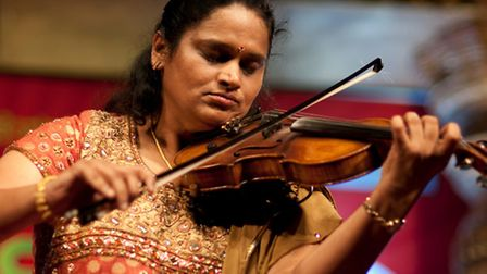 Jyotsna Srikanth has been playing the violin since she was five-years-old