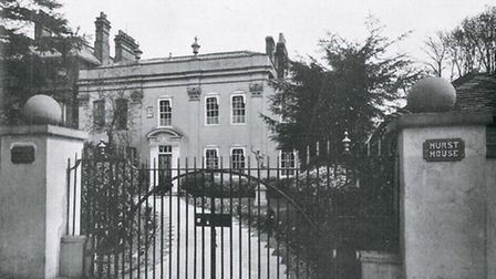 Hurst House in the 1800s. [Picture: Nicola Munday]