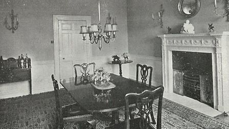 Hurst House's dining room in 1937. [Picture: Nicola Munday]