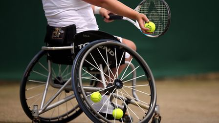 The NEC Wheelchair Tennis Masters is coming to the Olympic Park today. Picture: EMPICS Sport/PA Imag